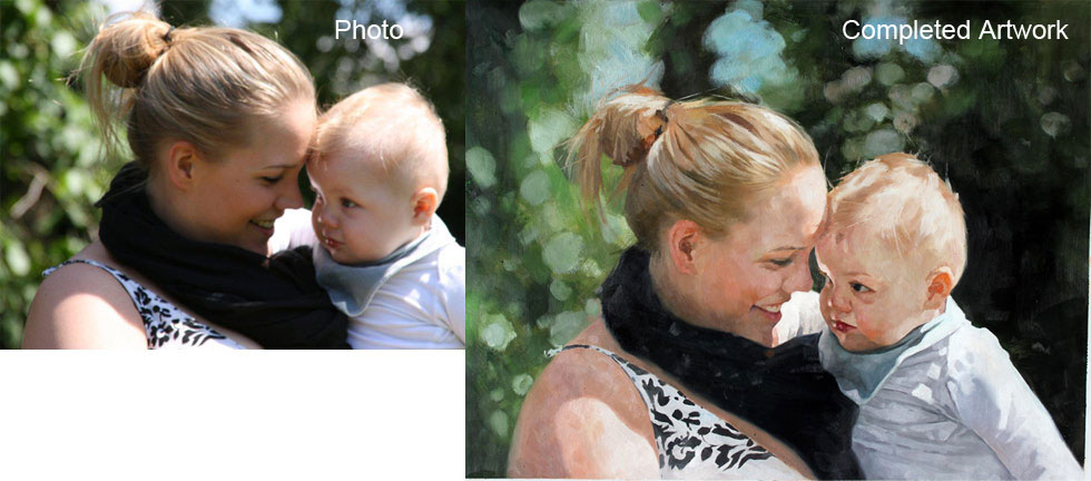 Why Are Custom Oil Paintings Great Gifts?
